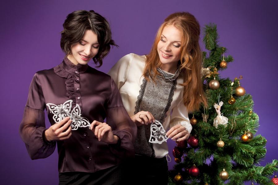 Новогодняя Блузка Купить