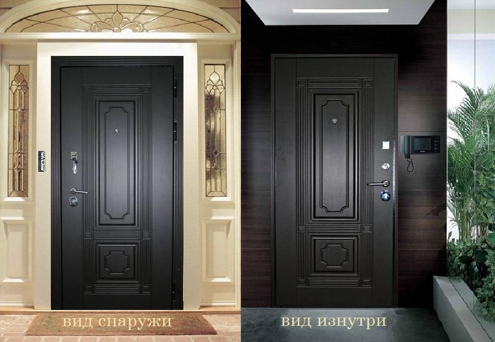 металлические входные двери класса люкс по индивидуальному заказу