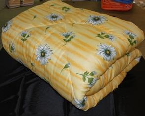 ТК Омега - Одеяла файбертек, синтепон в бязи, полиэстере, поликоттоне оптом от п